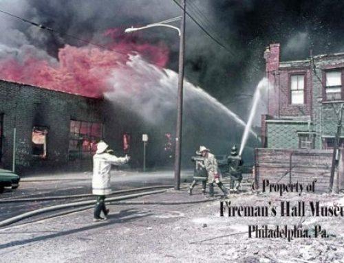 Sidewater Box Company Fire, 1972