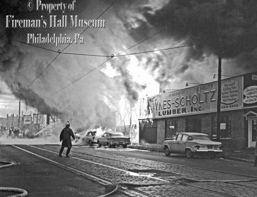 Sykes & Scholtz Lumber Fire 1965